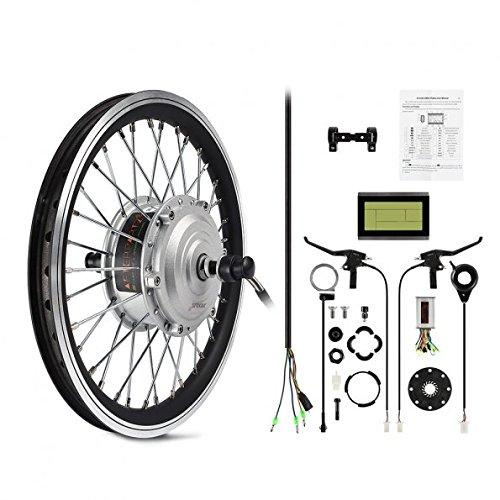 AFTERPARTZ Unisex-Adult E-29 E-Bike Conversion Kit, Black, 29\'\'
