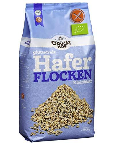 Fiocchi Di Avena Senza Glutine Bio 1Kg Integrale 1Kg Fiocchi Avena Bio Certificata Senza Glutine 100% Biologico Senza OGM Senza Conservanti Senza