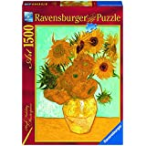 Ravensburger - Van Gogh, Los Girasoles, puzzle de 1500 piezas (16206 2)