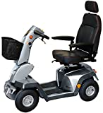 Roma Medical (Shoprider) New! Grande 8MPH Class 3 Mobility Scooter - Silver