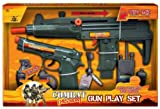 Enlarge toy image: Combat Mission Gun Play Set With Realistic Gun Sound