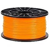 NuNus 3D Printer Impresora PLA Filamento 1,75mm 1KG (naranja)