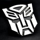Sedeta® 3D DIY Aufkleber Autobot Vorne Hinten Schwanz Windschutzscheibe Banner Transformers SUV Lkw Auto Auto Aufkleber Emblem Mode Kühle Hohe Qualität