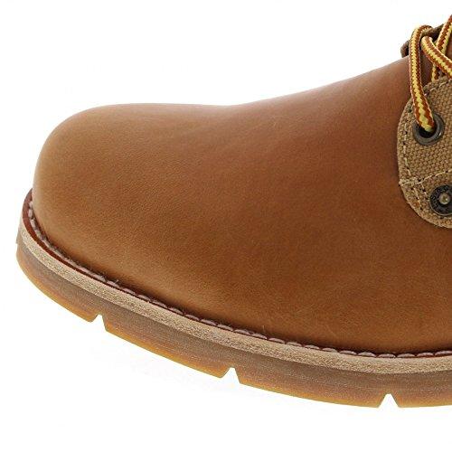 Levi´s Footwear Jax Medium Yellow/Herren Schnürstiefel Braun/Herrenstiefel/Chukka Boots Medium Yellow