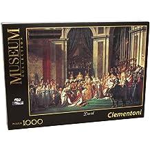 Clementoni 31416 - Puzzle David - La Consacrazione di Napoleone, Collezione Museum, 1000 Pezzi
