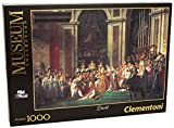 Clementoni - 31416.4 - Puzzle Collection 1000 Pièces - Le Sacre de Napoléon - David