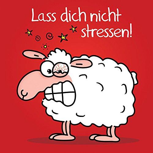 Lass dich nicht stressen!: Witziges Cartoon-Geschenkbuch zur Entspannung