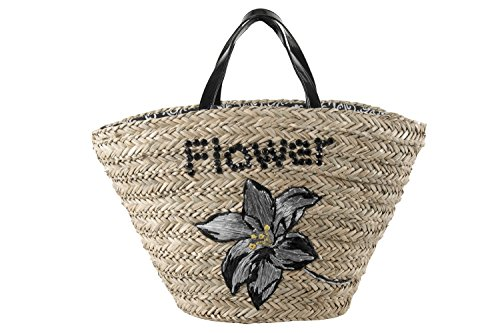 Price comparison product image Beach / pool shoulder bag woman ROMEO GIGLI beige made of straw V88