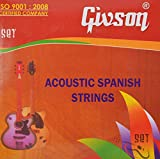 #7: Givson Acoustic Guitar Strings Stainless Steel Material (Pack Of 6)