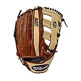 Wilson - Gant de Baseball Wilson A2K 20178 12.75 Main-Pied - Droitier, Taille Gant - 12.5