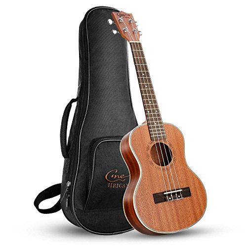 Hricane Tenor Ukulele UKS-3 26 Zoll Professional Ukulele Starter Kleine Gitarre Hawaiianische Gitarre Bündeln mit Tragetasche