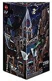 Heye 26127 - Dreieckspuzzles 2000 Teile Castle of Horror