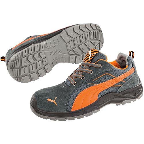 492e48e70757 Puma 643620.43 Chaussures de sécurité Omni Flash Low S1P SRC Taille 43,  Gris Orange
