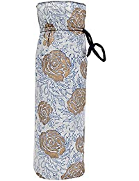 Literacy India Indha Hanmade Traditional Hand Block Print Cotton Bottle Cover/Water Bottle Cover/Wine Bottle Cover