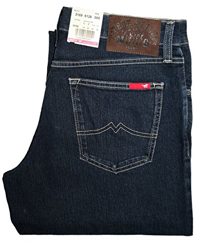 Mustang Big Sur Jeans Blue Black Stretch Stone Was Blau