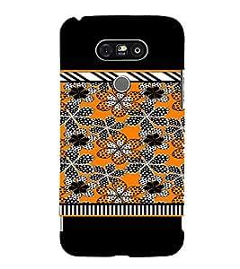 PrintVisa Flower Design 3D Hard Polycarbonate Designer Back Case Cover for LG G5
