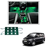 #10: Vheelocityin 9 LED Custom Cuttable Car Green Light for Interior/ Exterior For Renault Kwid