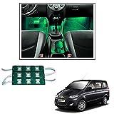 #10: Vheelocityin 9 LED Custom Cuttable Car Green Light for Interior/ Exterior For tata Indigo eCS