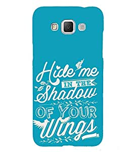 FUSON Hide Me Shadow Wings 3D Hard Polycarbonate Designer Back Case Cover for Samsung Galaxy Grand Max G720