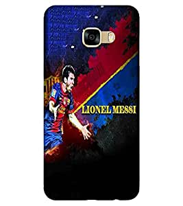 For Samsung Galaxy C9 Pro beautiful cartoon ( beautiful cartoon, cartoon, black background ) Printed Designer Back Case Cover By TAKKLOO