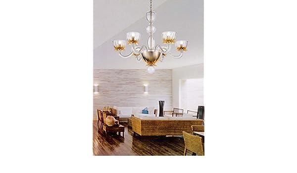 Plafoniera Per Bagno Murano : Lampadario murano la murrina amazon illuminazione