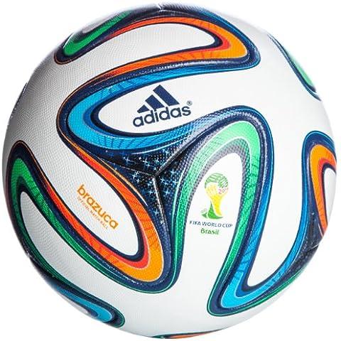 adidas Brazuca Omb - Balón de fútbol de competición, color multicolor, talla 5