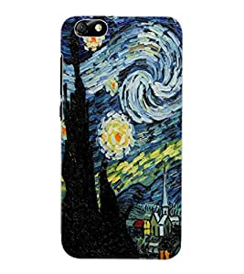 ColourCraft Abstract Art Design Back Case Cover for HUAWEI HONOR 4X