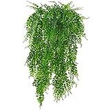 Sharplace Kunstblumen 1 Stück Hängende Rebe Efeu Pflanzen Kunstblumen für