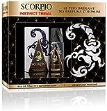 Scorpio Coffret 2 Produits Instinct Tribal Eau de Toilette Flacon 75 ml/Déodorant Atomiseur 150 ml