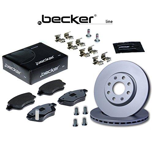 Bremsen Set (Vorderachse) von f.becker_line (1420-43876) u.a. | Bremsanlage