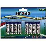 Arcas Set de 8 Piles R6 AA 1,5 V