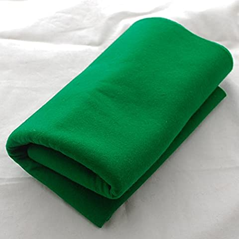 100% Pure Wool Felt Fabric - 1mm Thick - Forest Green - 40cm x 50cm