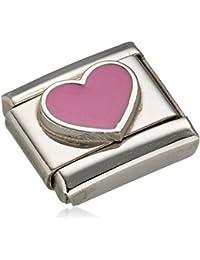 Nomination Composable Women's Yin Yang Charm-Heart Design-Stainless Steel-Enamel - 330202/20 SMMI1dsl