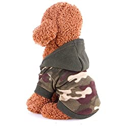 Fashion Cute Little Pet Dog Clothing ! sunnymi® Lovely Puppy Clothes Autumn Winter Hoodie Warm Sweater Coat Costume Apparel for Walking Jogging XS S M L XL