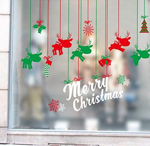 Dalxsh Weihnachtsschmuck Für Zuhause Outdoor Dekoration Wandaufkleber Weihnachten Weihnachten Frohes Neues Jahr Geschenk Für Das Neue Jahr 60X90Cm (Neue Jahre Outdoor-dekorationen)