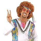 Hippie Brille John Lennon Hippiebrille Rosa runde Sonnenbrille Retro 74er