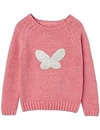 VERTBAUDET Jersey niña mariposa con lentejuelas