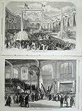Paris-Ausstellung, welche 1867 die Zentrale Garten-Maschine Errichtet