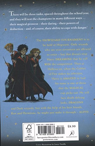 Image of Harry Potter and the Goblet of Fire: 4/7 (Harry Potter 4)