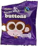 Cadbury Dairy Milk Chocolate Buttons Treatsize 14 g (Pack of 55)