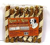 Kreak 'n' Krips High Protein Dog Chew Spirals - 8 Pieces