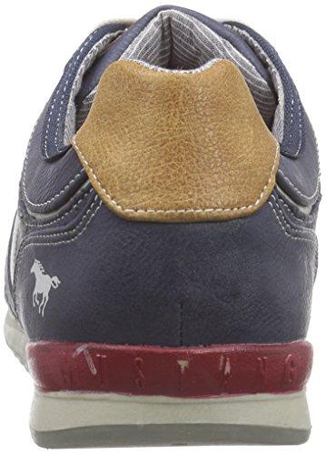 Mustang 4091-301, Baskets Basses homme Bleu (800 Dunkelblau)
