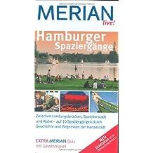 MERIAN live! Reiseführer Hamburger Spaziergänge