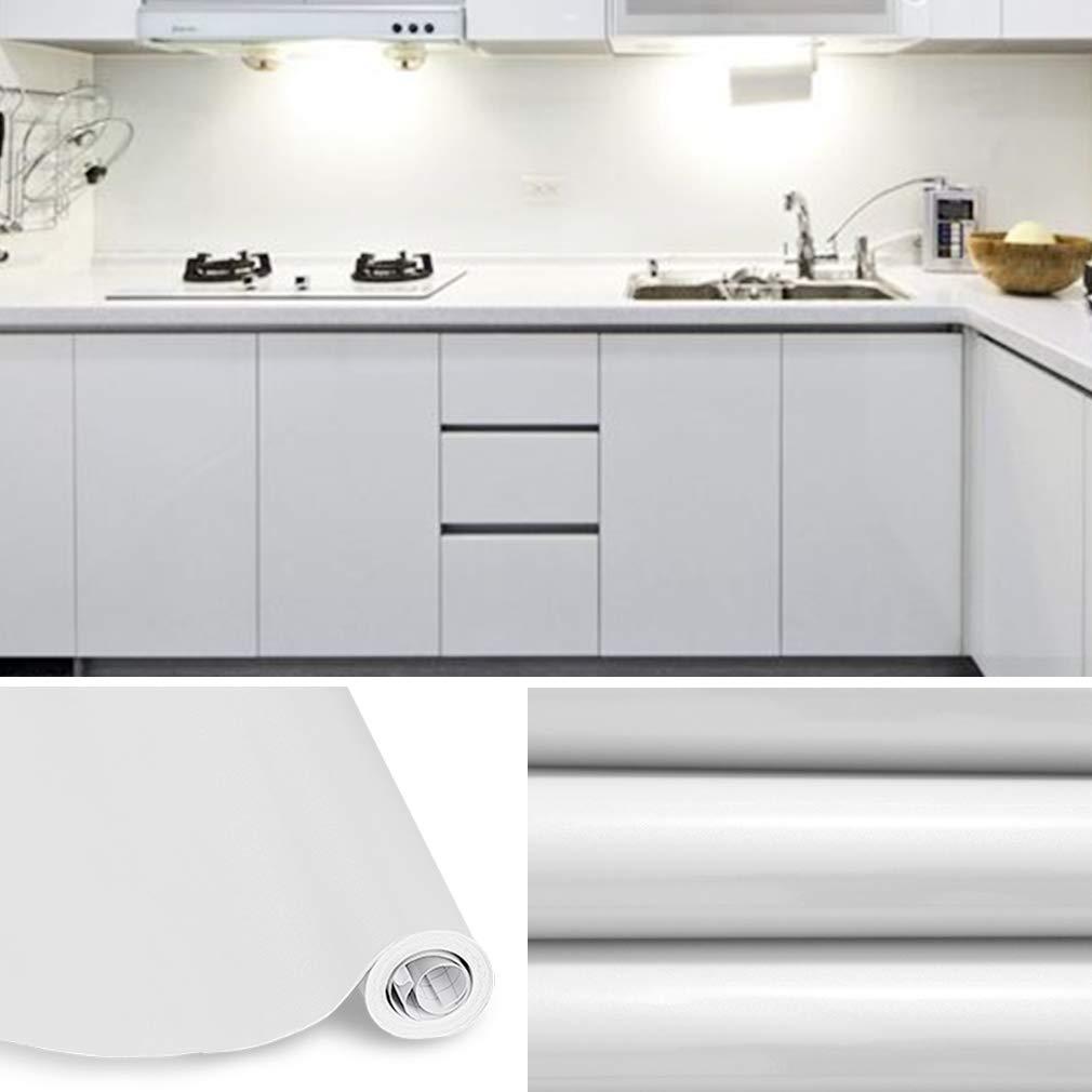 KINLO Adesivi Carta per mobili 0.6M x 5M PVC Impermeabile Adesivi mobili  rinnovato mobili da Cucina Grigio | CasaMe