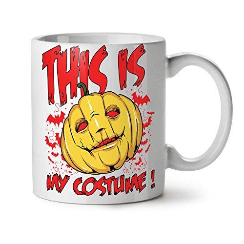 Halloween Kostüm Horror WeißTee KaffeKeramik Becher 11 | (Halloween Kostüme Für Empörend)