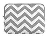 MOSISO Chevron Schutzhfülle Tasche für das neue iPad, Samsung Galaxy Tab Farbe: Grau