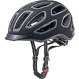 Uvex Fahrradhelm City E, Black Mat, 57-61 cm