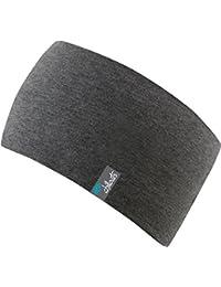 sportliches Kopfband Haarband aus Baumwolljersey in vielen Farben, doppellagig