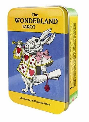 Wonderland Tarot in a Tin por Chris Abbey, Morgana Abbey