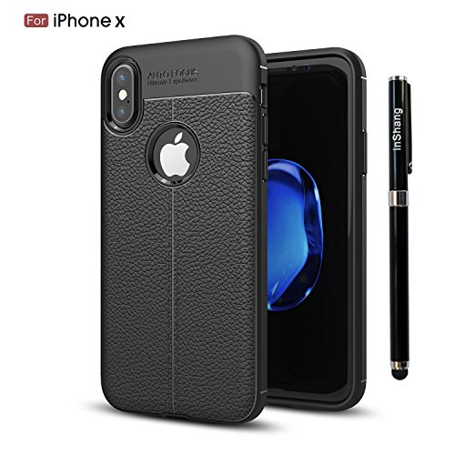 inShang iPhone 6 / 6s 4.7 inch custodia cover del cellulare, Anti Slip, ultra sottile e leggero, custodia morbido realizzata in materiale del TPU, frosted shell , conveniente cell phone case per iPhon black